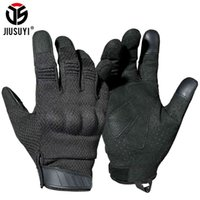 All finger paintball tactical gloves, military shooting equipment, Airsoft, light and breathable, hard joint protection