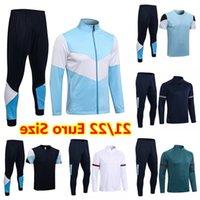 2021 MAN Hooded tracksuit Football Jesus Jersey jacket Maillot De Foot 21 22 Survetement CITY soccer sets tracksuits training suits