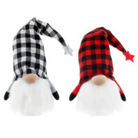 Halloween Puppen liefert Dekorationen Requisiten Lichtgitter Fachlose Rudolph Zwerg Glühender Wald Alter Mann Puppe Party Dekoration Geschenke liefern G74Y0PU