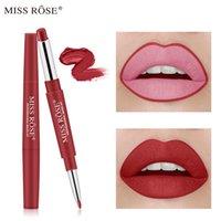 Wasserdichter Lippenstift Matte Lip Liner Bleistift Doppelte Kreativität Makeup Schönheit Miss Rose Cosmetics