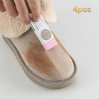 4pcs Shoes Cleaning Eraser Suede Sheepskin Matte Leather Fab...