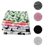 Kuscheldecke Neugeborenen Liebe Decken Cartoon Blume Muster Teppich Mini Sicherheit Kissen Baby Dusche Geschenk Tuch FWB7360