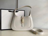أعلى جودة الأصلي حقيقي جلد crossbody حقائب المرأة كلييو g جاكي 1961 نحى حمل حقيبة يد الفاخرة مصمم رجل الكتف حقيبة المتشرد المحفظة حقائب اليد