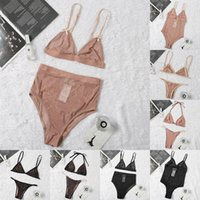 Commercio all'ingrosso 2021 Donne di alta qualità Bikini Costume da bagno Set Design Sport Bra Gilet + Pantaloni Leggings Costumi da bagno Costumi da bagno Tracksuit 8 Styles Shooes