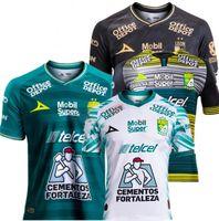 Top-Leon Jersey 20-21 Домашний Домашний Over Dven Offul Mexico Футбольный костюм Leon Campur может быть настроенным T-футболкой