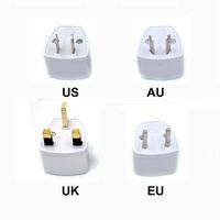 Adaptateur de chargeur de voyage universel US AU UE FLAG UK FLUM FLAG AC POWER adaptateur secteur Convertisseur