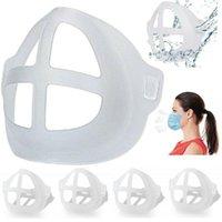 Maschere del partito Maschere 3D Staffa 3D Riutilizzabile Rossetto Protezione Stand Supporto interno Naso Aumenta il supporto per la bocca dello spazio respiratore