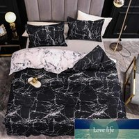 Marble Bedding Set For Bedroom Soft Bedspreads For Double Bed Home Comefortable Duvet Quality Quiltr And Pillowcase