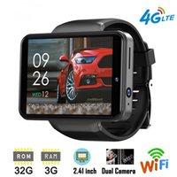 DM101 Max S 4G Smart Watch Phone телефон Android 7.1 Quad Core Core 3GB 32GB Шагомер сердечной скорости IP67 водонепроницаемый 2.4 '' SmartWatch Dual Camera