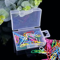 Toolbox Electronic Plastic Container Box for Tools Case Screw Sewing PP Boxes Transparent Component Screw Jewelry Storage Box GWE10395