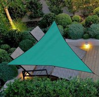 Shade Summer Garden Triangle Fixed Oversized Waterproof Awning Canopy UV Block Sail Yard Awnings Car Sunshade Cloth