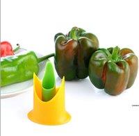 Peperone Corer Chili Seminato dispositivo di rimozione del dispositivo peperoncino Cutter Corer affettatrice frutta peeler cucina utensile 2 pz 1 lotto colori casuali HWA4329