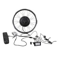 26-Zoll-elektrischer hinterer Hub-Motorumwandlungs-Kit 1000W 1500W Ebike-Bike wasserdichte Lithium-Batterie 48V 13.4ah-Reifen 1.95 Motorrad LCD-LED-Anzeige
