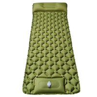 Inflatable Floats & Tubes Self Inflating Sleeping Pad Pillow Lightweight Compact Air For Camping Hiking Backpacking Outdoor Tent Mattress