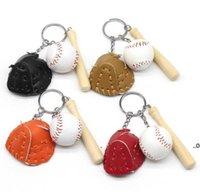 Newbaseball Keychain Baseball Chaveiro Chaveiro Esporte Jogo Souvenir Festa Favor Moda Homens Ao Ar Livre Mochila Pingentes Mulheres Saco Decorações