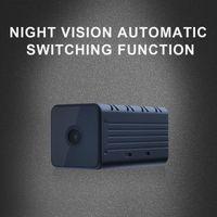 Caméra extérieure 1080p HD Batterie WiFi Surveillance sans fil Accueil Sécurité ALARME ALARME AUDIO POWER POWER INTERCOM FONCTION MINI CAMERAS