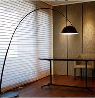 Nordic ins net red fishing lamp floor lamp design sense minimalist designer living room study vertical table lamp