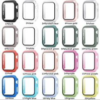 Tempered Glass Screen Films+ Matte Watch Cover for Apple Case...