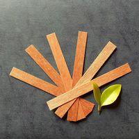 20 шт. Деревянные свечи Ядро для сои или Palm Wax Свеча поставки DIY Pick