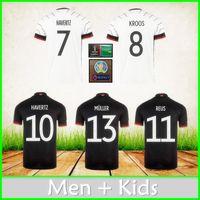 Deutschland Fußball-Trikots 20 21 22 Gnaul Kroos Havertz Muller Kimmich Werner Hummels Goretzka Fußball Hemd Männer Jersey + Kinder Kit Uniform