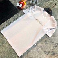 T-shirt da uomo estate uomo casual uomo da donna coppia in coppia in puro cotone anti-crease manica corta la lettera stampa stampa abbigliamento traspirante taglia M-6XL