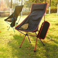 Chegada Camping Portátil Dobrável Compacto Lightweight Ultraleight Backpacking Cadeiras Alto Acessórios de pesca Qulity