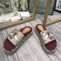A mais recente marca de sandálias de sandálias mais recentes Bolsa 2021 Primavera e verão Designer de moda personalizado Slide Lazer de Luxo À Prova D 'África Bottom Flip Flop para Estudantes