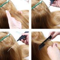 Resaltar el peinado del peinado del peinado del cabello del diente fino PIN resistente al calor Peine de la cola de la rata PEB SALIDA DE PISTA DE PISTA PERSONAL PEX Q JLLLZSY