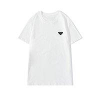 CPTopstoney 2021 Verão de alta qualidade algodão homens t-shirt impresso carta de correção de correção pescoço manga curta para amantes camisa de fundo casual moda