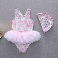 Animal Pattern Girls Tutu Swimwear for Kids Mermaid Baby Swimsuit Bathing Suit Clothing 210529
