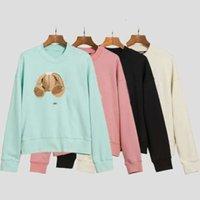 2021 Новая распродажа мода капюшонов сломанный медведь толстовка плюшевый мишка модный махровый взрыв свитер стиль мужчины и женщины размеры S-XL_NEWS