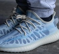 Моно глиняная Monoice V2 обувь 450 2021New прозрачный ледяной синий бегущий кроссовки лето мужчин женщин размером 36-48 большой плюс с коробкой