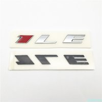 Forten Kingdom 2 Pieces Word 1LE Chrome Red ABS 3D Letter Badge Fender Side Or Rear Trunk Emblem Nameplates Writing Sticker