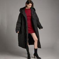 Women's Down & Parkas Manteau femme inverno , jaqueta grande taille puchowa damka, casaco longo com capuz, quente 3XHP