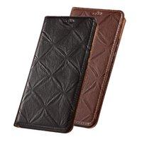 Luxus-Kuh-Haut-Leder-Magnetbuch-Telefon-Case-Kartentasche für Meizu 16. Plus / Meizu 16th / Meizu 15 / Meizu 15 plus Holster-Hüllen-Zelle