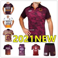 2021 Nova Brisbane Broncos Rugby Jersey Brisbane Anzac 2020 Homens Indígena Darius Boyd McCullough Ben Hunt Nines
