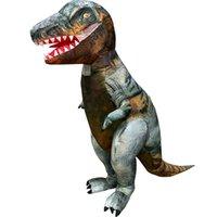 التميمة costumes2019 الكبار نفخ ديناصور زي هالوين زي للرجال النساء التنين t-rex الخيال suitsmascot دمية زي