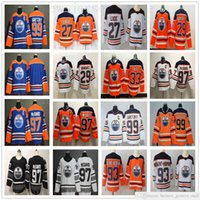 Erkek Kadın Gençlik Edmonton Oilmers Hokey 97 McDavid Jersey 29 Leon Draisait 99 Wayne Gretzky 27 Milan Lucic Cam Talbot Nugent-Hopkins Formalar