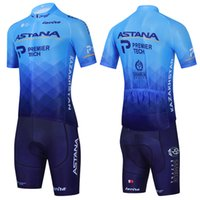 Uomini 2021 Astana Cycling Jersey 20D Shorts Mtb Maillot Bike Shirt Downhill Pro Mountain Bicycle Abbigliamento Abbigliamento