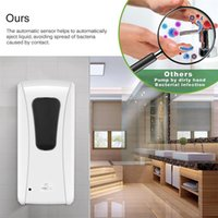 Car Sponge AOZBZ 1000ml Wall-Mount Soap Dispenser Automatic IR Sensor Touchless Liquid Home Touch-Free Lotion Pump