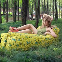 Outdoor Pads Camping Inflatable Sofa Mat Lazy Bag 3 Season Ultralight Beach Sleeping Air Bed Mattress Lounger Sports Travel
