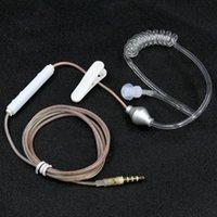 Tabela mobilna Rura próżniowa Monaural Earhpone Anti RdioT Słuchawki z pszenicą Special Screw Vents Słuchawki 3,5 mm Zestawy słuchawkowe