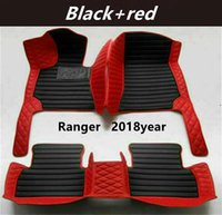 FOR Ford Ranger 2018year Custom Car Splicing Floor Mats Waterproof Leather Wear-resistant Non-toxic Tasteless and Environmentally Friendly Foot Mats