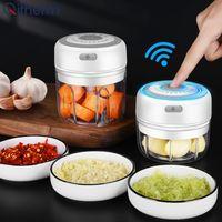 Cuisine électrique Chopper Ail Masher Bouchon de viande Mini Food Guide Général Végétale Concasseur Rechargeable Food Processeur