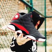 Panda Love Homme et respect Earl Flying History Sports AJ13 Basketball Chaussures Joe 13 Bottes High Top Oozp