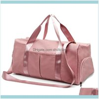Outdoor Bags & Outdoors Sports Gym Tote Travel Workout Swim Yoga Bag With Dry Wet Pockets Multifunctional Drop Delivery 2021 Fldeq