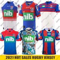 2021 Newca Stle Şövalyeleri Eve Uzakta Yelek Rugby Jersey Yerli Jersey Avustralya NRL Rugby League Formalar Boyutu S-5XL