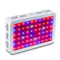 600W 800W 1000W 1200W 1500W 1600w 1800W 2000W 2000W Double puce LED poussez la lumière pleine spectre rouge / bleu / UV / IR pour plante intérieure