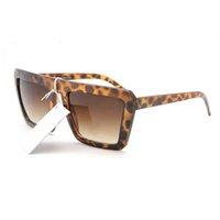 Moda Óculos de Sol Homem Mulher Mulher Ao Ar Livre Goggle Óculos Ornamentais Designer de Luxo Eyeglasses PC Frutos Completo UV400 Lentes Caixa Original Caixa Cinza Quadro