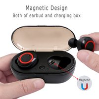 Y50 bluetooth earphone 5.0 TWS Wireless Headphons earphones Earbuds Stereo Gaming Headset With Charging Box for phone